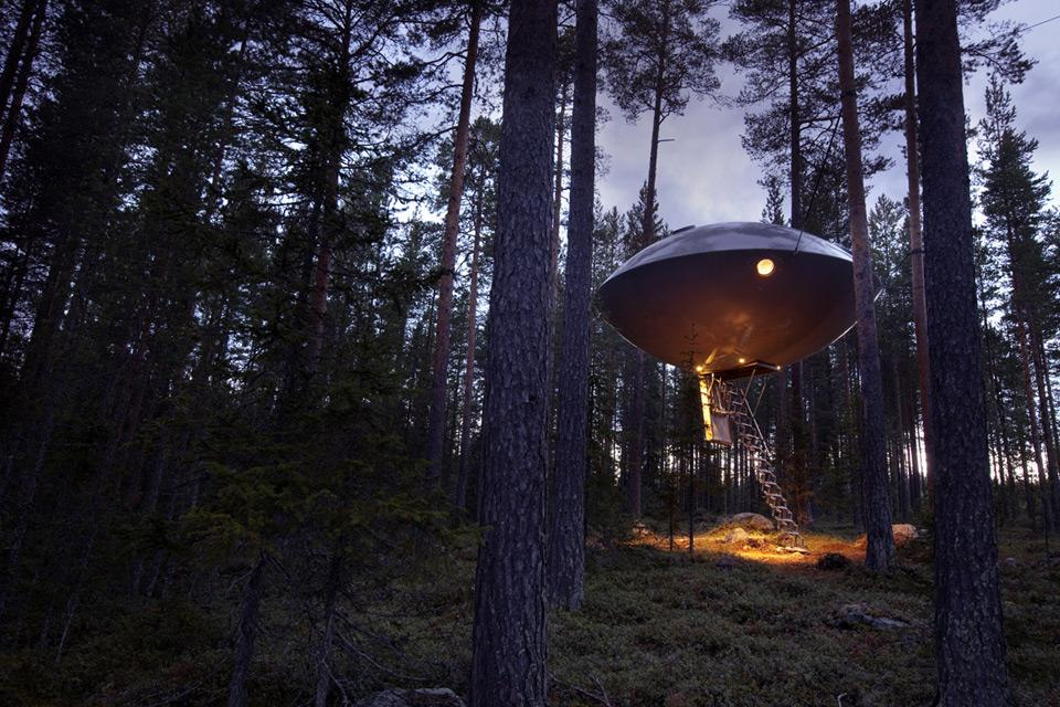 Treehotel Se The Ufo Interiors Inside Ideas Interiors design about Everything [magnanprojects.com]
