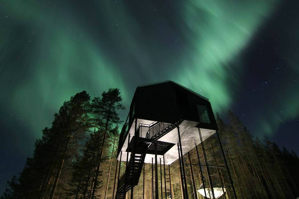 The best northern lights hotel