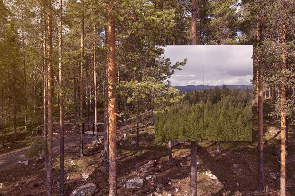Treehotel Se The Mirrorcube